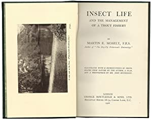Insect Life and the Management of a TroutFishery. Frontispiece by Mr. John Henderson.