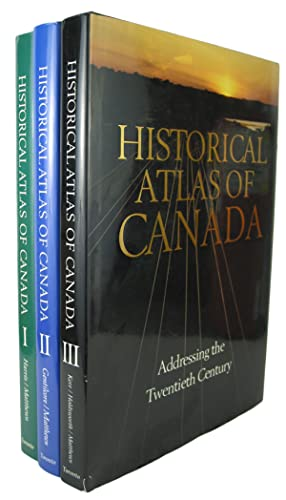 Historical Atlas of Canada. Volume I.From the: HARRIS, R. Cole