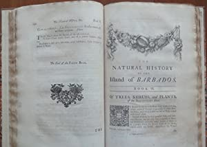 The Natural History of Barbados.: HUGHES, Griffith