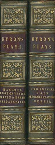 Byron's Plays). Manfred: A Dramatic Poems. &: BRYON, Lord
