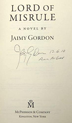 Lord of Misrule (Signed): Gordon, Jaimy