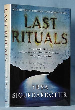 Last Rituals: An Icelandic Novel of Secret: Sigurdardottir, Yrsa