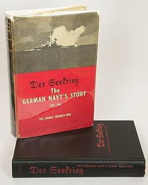 Der Seekrieg The German Navy's Story 1939-1945: Ruge, Friedric