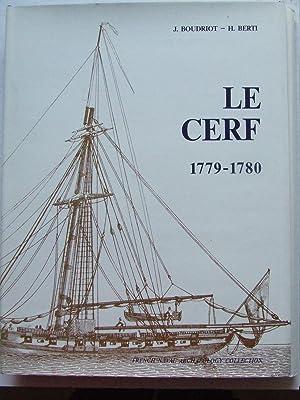 Cotre [Cutter] Le Cerf 1779-1780, du constructeur: Boudriot, Jean &