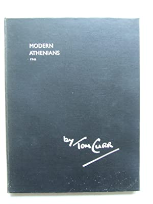 MODERN ATHENIANS 1944. [pencil sketches with poetical: Curr, Tom