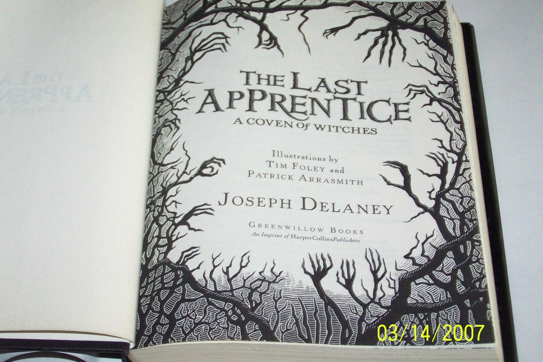 The Last Apprentice, A Coven of Witches