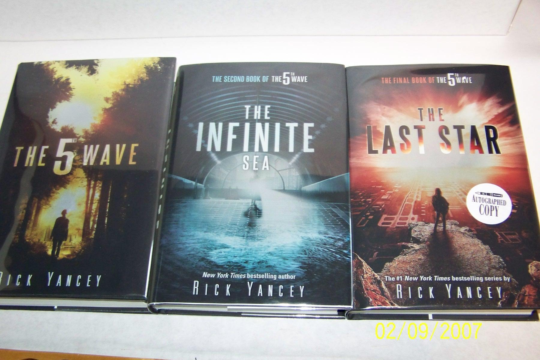 The 5th Wave, The Infinite Sea and The Last Star par Rick