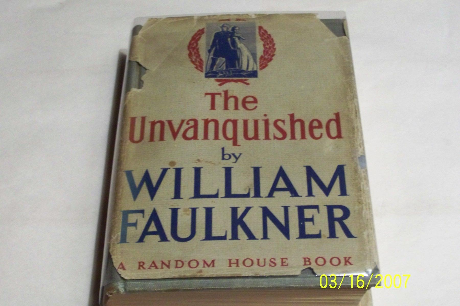 a review of william faulkners novel the unvanquished Unvanquished: unvanquished is a monumental work of stunning detail and impressive depth in it, peter hetherington chronicles the life of marshal joseph pilsudski, the soldier who almost single-handedly resurrected poland from the ashes of the great war in.