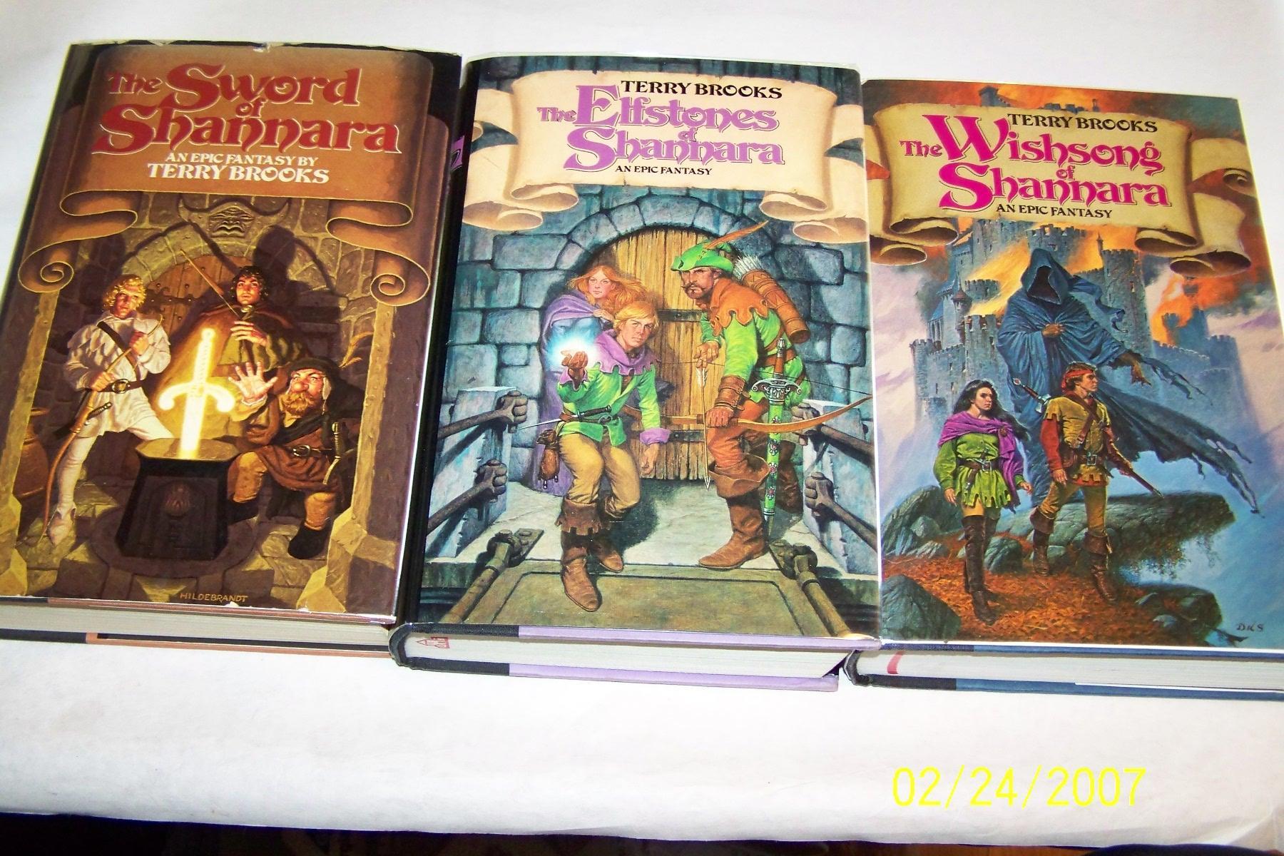 terry brooks shannara books