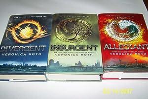 Divergent, Insurgent, Allegiant Trylogy: Veronica Roth