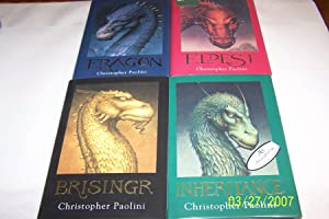 Inheritance Cycle 4 Vols. Signed