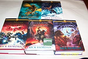 The Heroes of Olympus, 5 Volumes