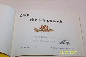 Chip The Chipmunk, VERY RARE !!!