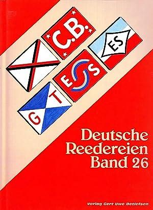 DEUTSCHE REEDEREIEN BAND 26/ GERMAN SHIPPING COMPANIES VOLUME 26: Detlefsen, Gert Uwe