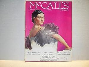 McCall's Magazine October, 1932: Margaret Culkin Banning,