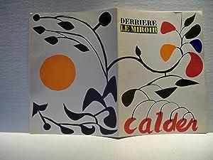 Derriere Le Miroir Nos 69-70 Octobre-Novembre 1954 - Calder: Henri Pichette and Frank Elgar