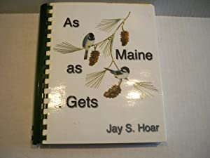 As Maine As It Gets: Jay S. Hoar