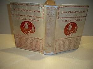 King Solomon's Mines: H. Rider Haggard