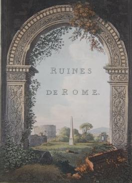 A Select Collection Of Views And Ruins Merigot J