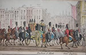 Robins's Panoramic Representation of the Queen's Royal Progress Through the City of London, on th...