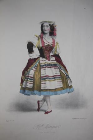 Danseuses de l'Opera Costumes des Principaux Ballets Dessines par Alophe: Alophe, ...