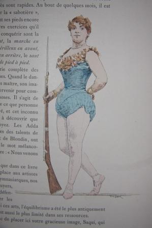 Les Jeux du Cirque et La Vie Foraine: Le Roux, Hugues. Illustrations de Jules Garnier