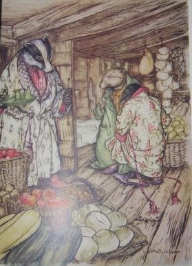 The Wind in the Willows: Grahame, Kenneth. Illustrations by Arthur Rackham. Introduction by A. A. ...