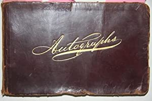 1890s Autograph Album Signed by Many Theatrical and Musical Celebrities, Including Anna Held, ...