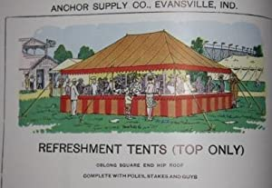 Anchor Supply Co. (Inc.) Awnings Covers Tents Catalogue No. 38