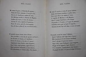 Stanze Inedite di Antonio de Pazzi e di Torquarto Tasso in Biasimo ed in Lode delle Donne. Edizione...