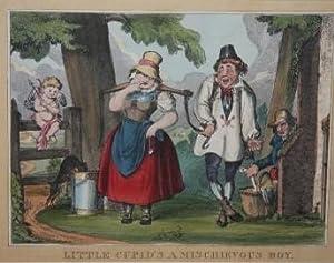 Print] Little Cupid's a Mischievous Boy: Heath, W.