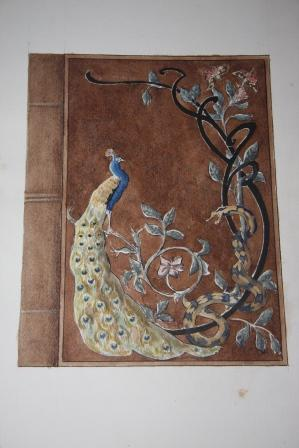 Art Nouveau Watercolors of Decor and Other Subjects: Ragot