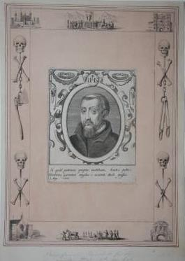 Illustrated Plate Honoring Henry Garnet, Convicted and Executed for Complicity in the Gunpowder P...