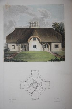 Rural Residences, Consisting of A Series of Designs for Cottages, Decorated Cottages, Small Villas,...