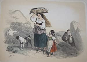 Album of Twenty Tinted and Hand-Colored Genre Plates Depicting Rural Life