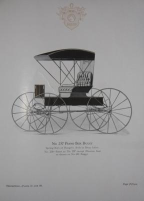 Trade Catalogue] Hopp Carriage Company 1915 Mifflinburg, PA. Builders of High-Grade Hand-Made ...