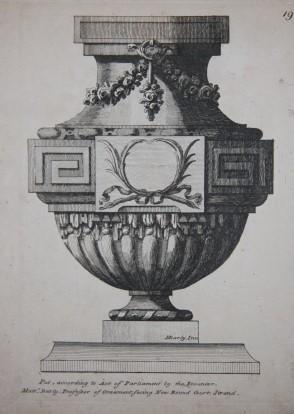 Sixty Vases by English French and Italien (sic) Masters.: Darly, M. [Matthew or Matthias] (1741? - ...