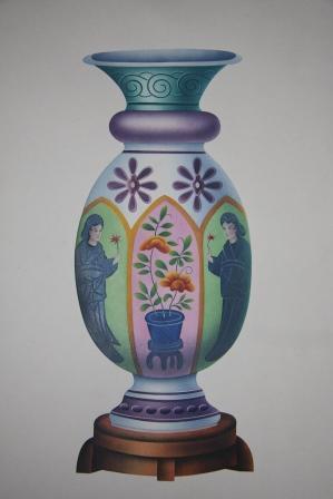 Vases Japonais: Beauvalet. Chevalier de Saint-Victor