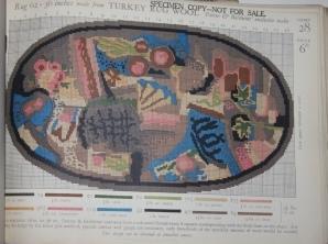 Trade Catalogue] Patons & Baldwins Ltd. Turkey Rug Wool Carpets