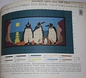 Trade Catalogue] Patons & Baldwins Ltd. Turkey Rug Wool Carpets
