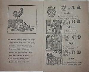 Nieuw A.B.C. Boekje, voor leerzame kinderen. Met Plaatjes.