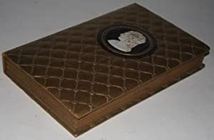 [Faux Book] Candy Box with Cameo Medallion, Cushioned Boards, and Gilt Edges