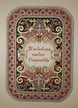 Illuminated Manuscript: Baird, Edith Elina Helen (1859 - 1924)