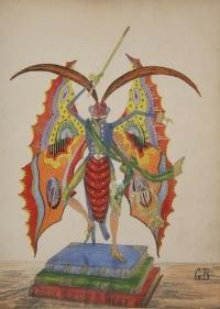 Album Comique. Concert des Artistes Papillons. Executant le Grand Air de la Muette: Berra, ...