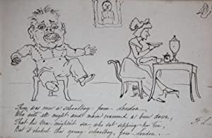 The Book of Folly A Volume of Original Caricatures in Pen-and-Ink from the Library of Viscount Long