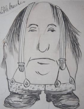 Caricature Self-Portrait