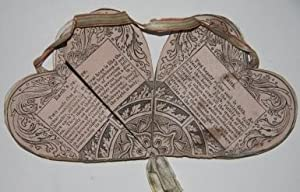 Heart-Shaped Valentine with Origami Folds Within, Each Panel Containing a Short Verse or ...
