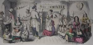 Follies of The Year: A Series of Coloured Etchings from Punch's Pocket Books 1844 - 1864: ...