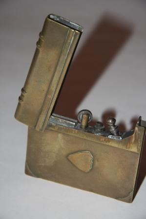 [Faux Book] Trench Art Lighter