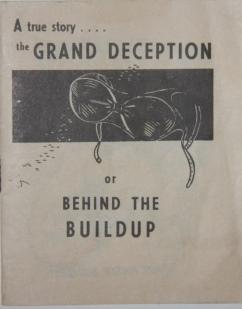 A true story . . . . the Grand Deception or Behind the Buildup. Breastypes! What's Yours?